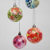 Plastic Christmas Baubles
