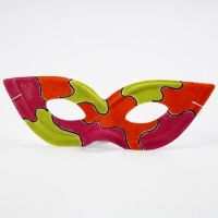 A Painted Zorro Mask