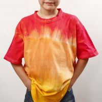 Dip'n Dye and Tie-Dye on a T-Shirt