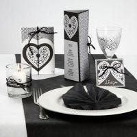 A Card Series with Design Paper, a Filigree Heart & Natural Hemp