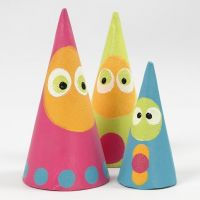 Fable Figures made from painted Cones