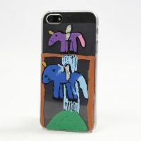 A Drawing on a Mobile Phone Cover