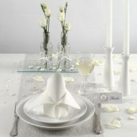 White Table Decorations