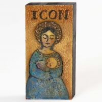 Technique School: A crackled Icon on Wood