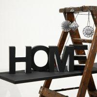 'Home' – painted Papier-Mâché Letters
