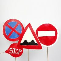 Materials for Role Play: Traffic Signs