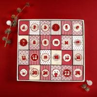 A Christmas Calendar made from 24 Boxes with a Lid