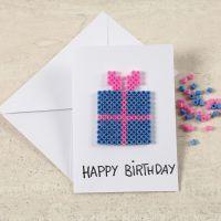 A Greeting Card with a Nabbi Bead Design