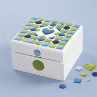 A painted Mosaic Box