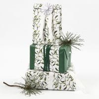 Gift Wrapping with Tissue Paper and Vivi Gade Design Paper