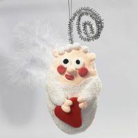 A Polystyrene Angel with Foam Clay and Silk Clay