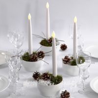 Christmas Decorations with  LED Candles