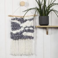 A Wall Hanging with Tassels