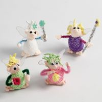 Polystyrene Figures with Foam Clay  and Silk Clay