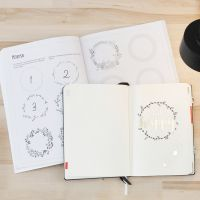 A Bullet Journal with the Help of an Exercise Book