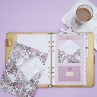 An Envelope for storing small Items in a Bullet Journal and Planner