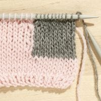 How to do the Intarsia Technique in Knitting