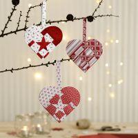 Woven Vivi Gade Design Paper Heart Baskets