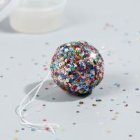 A mini Disco Ball with Sticky Base