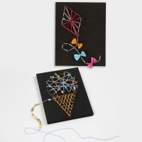 3D Pictures with String Art