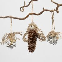 Angels made from Pine Cones