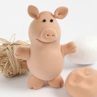 A Silk Clay pig