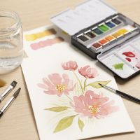 Watercolours for beginners: Learn how to paint with watercolours